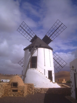 windmill in the museum